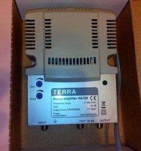 Телевизионный усилитель Terra HA 126 34 дБ