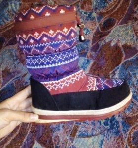 Ботинки зима 33 размер