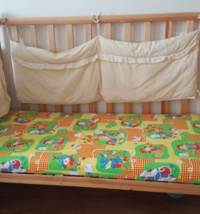 Детская кровать с матрасом + подарок