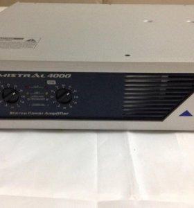 Alto mistral 4000 stereo power amp