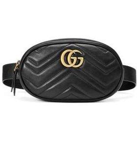 Женские сумки Gucci на пояс часы Gucci в подарок