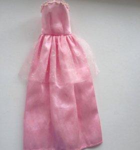 Платья для кукол. На липучке.