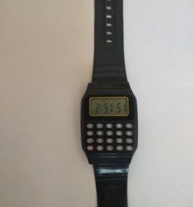 Часы калькулятор для школы