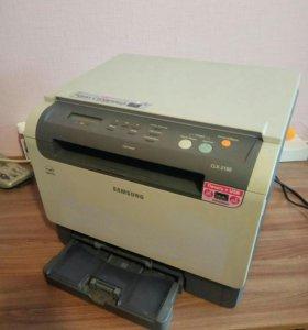 Принтер цветной лазерный Samsung CLX-2160