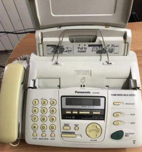 Телефон с факсом