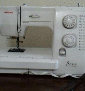 Электрическая швейная машина janome sewist 625e.