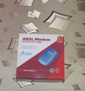 Адсл модем для выхода в интернет по телефон. линии