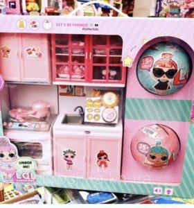 Набор кукол LoL кухня