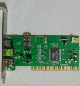 Контроллер PCI-3+1 IEE1394