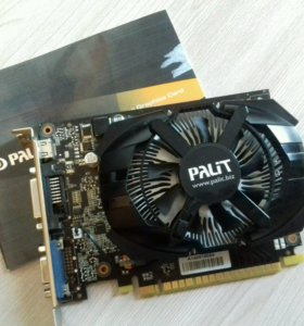 Видеокарта Palit GeForce GT 740 2 gb