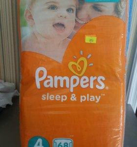 Pampers sleep & play подгузники