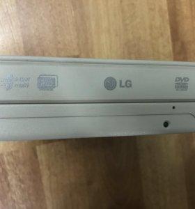 Привод оптический DVD-RW LG GSA-H42N IDE