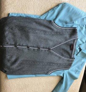 Рубашка, джемпер, жилетка