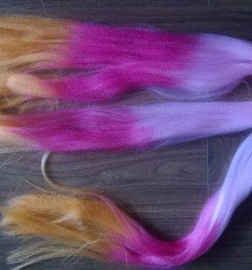Искусственные волосы новые