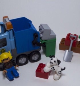 Lego duplo 10519 мусоровоз, отличное состояние