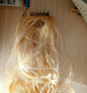 Пряди волос