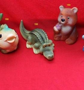 Резиновые игрушки фабрика Огонёк ПВХ