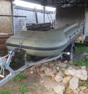 Надувная лодка фрегат