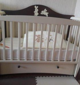 """Новая кроватка  """"Papaloni Olivia"""""""