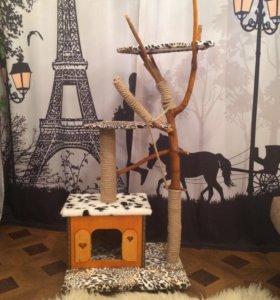 Игровой комплекс,домик для кошки