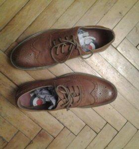 Ботинки мужские демисизонные кожа