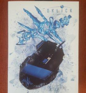 Игровая мышь Oklick 775G Ice Claw