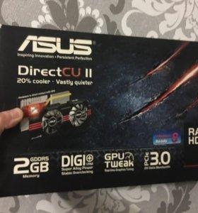 Видеокарта asus Radeon HD 7850
