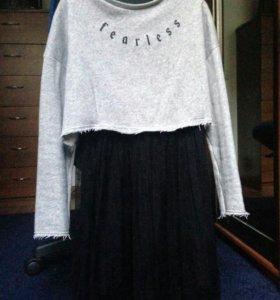Платье ZARA рост 152