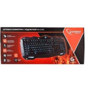 Игровая клавиатура Gembird KB-G200L