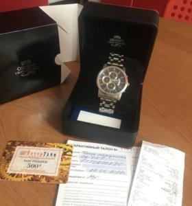Классические мужские часы Orient (Япония)