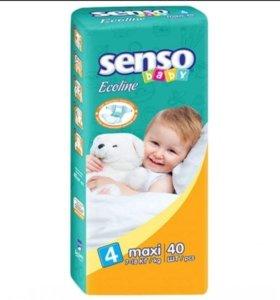 Подгузники SENSO 4