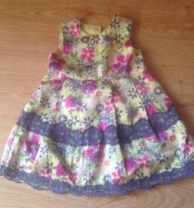 Платье для девочки 1-1,5 года