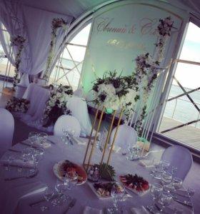 Цветы на свадьбу в аренду