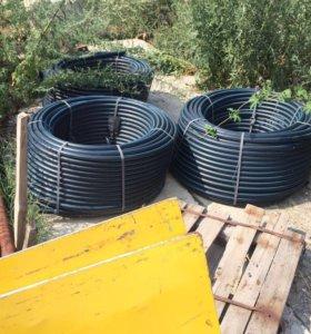 Труба напорная водонапорная пнд пэ-100 110х10мм