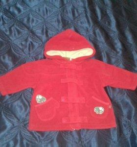 Полупальто (куртка) 74-80р.