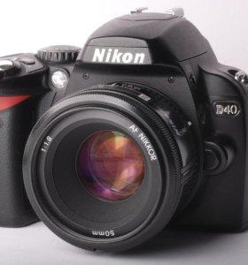 Nikon d40 body в идеале