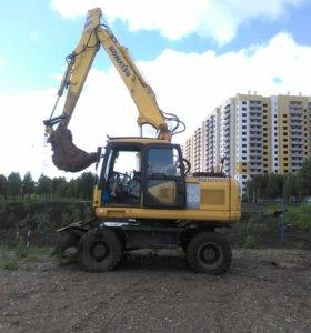 Экскаватор Komatsu PW160-7H