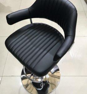Кресло визажиста (Черный матовый)