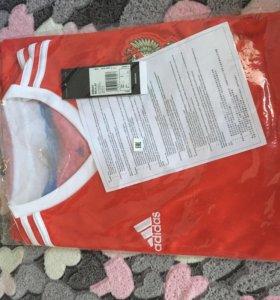 Новая в упаковке , футболка сборной, размер L