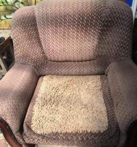 Кресло-кровать, широкое спальное место.