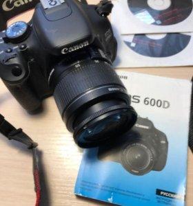 Фотоаппарат Canon EOS 600 D