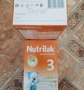 Детская смесь Nutrilak 3
