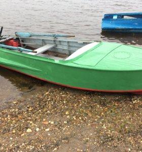 Продаётся лодка Казанка, мотор Parsun 15
