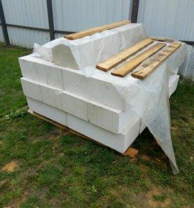 газосиликатные блоки 200*300*625