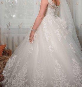 ❗️Свадебное платье в отличном состоянии ❗️