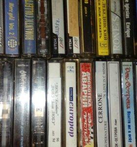 Аудиокассеты. Зарубежная эстрада.
