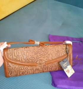 Кожаная сумка марки Sabellino