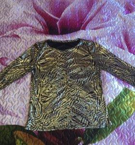 Нарядная женская кофточка /блузка (46-48 размер)