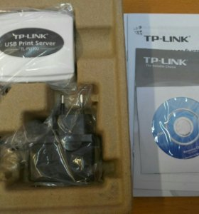 Принт-сервер TL-PS110U 1x10/100 UTP, 1 USB2.0