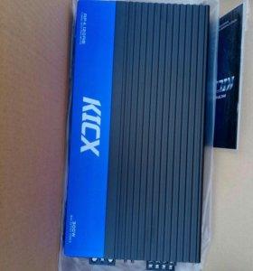 4 канальный усилитель kicx AP 4.120AB и 2 динами
